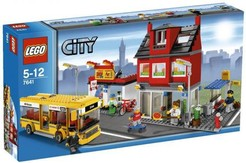 LEGO City 7641  Bus Pizzeria Bike Shop