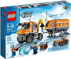 LEGO City Artic 60035  Avamposto Artico
