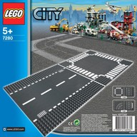 LEGO City 7280-1 Strade Rettilineo e incrocio