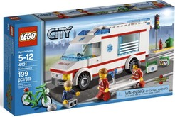LEGO City 4431  Ambulanza con medico a bordo