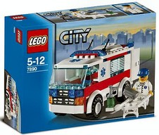 LEGO City 7890  Ambulanza