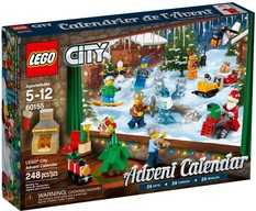 LEGO  60024  City Calendario dell'avvento 2017